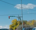I can see the mountains even sitting at the traffic light in Loveland, Colorado