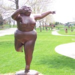 Nocturne by Barbara Chen in Loveland, Colorado's Benson Sculpture Garden