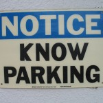 Notice Know Parking
